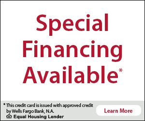 Illustration of Special Financing Available